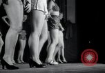 Image of Chorus line New York City USA, 1943, second 2 stock footage video 65675074454