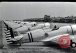 Image of P-36 pursuit planes Langley Field Virginia USA, 1939, second 1 stock footage video 65675074459