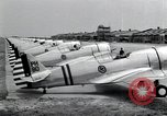 Image of P-36 pursuit planes Langley Field Virginia USA, 1939, second 4 stock footage video 65675074459