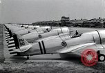 Image of P-36 pursuit planes Langley Field Virginia USA, 1939, second 5 stock footage video 65675074459