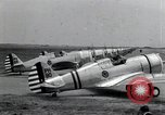 Image of P-36 pursuit planes Langley Field Virginia USA, 1939, second 8 stock footage video 65675074459