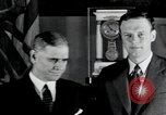 Image of Charles Lindbergh Washington DC USA, 1933, second 9 stock footage video 65675074461