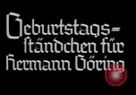 Image of Hermann Goering Munich Germany, 1937, second 4 stock footage video 65675074463