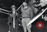 Image of Charles Lindbergh and his mother Long Island New York USA, 1927, second 7 stock footage video 65675074467
