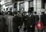 Image of crowd Lisbon Portugal, 1942, second 5 stock footage video 65675074494