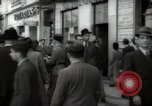Image of crowd Lisbon Portugal, 1942, second 8 stock footage video 65675074494