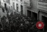Image of crowd Lisbon Portugal, 1942, second 10 stock footage video 65675074494