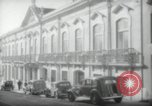 Image of Sir Donald Campbell Lisbon Portugal, 1942, second 3 stock footage video 65675074500