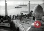 Image of Coast Guard cutter Lisbon Portugal, 1942, second 4 stock footage video 65675074502