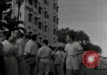Image of people lined up Philippines, 1942, second 12 stock footage video 65675074518