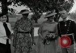 Image of Eleanor Roosevelt Hyde Park New York USA, 1936, second 2 stock footage video 65675074551