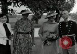 Image of Eleanor Roosevelt Hyde Park New York USA, 1936, second 3 stock footage video 65675074551