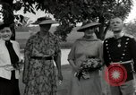 Image of Eleanor Roosevelt Hyde Park New York USA, 1936, second 5 stock footage video 65675074551