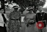 Image of Eleanor Roosevelt Hyde Park New York USA, 1936, second 6 stock footage video 65675074551