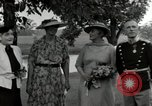 Image of Eleanor Roosevelt Hyde Park New York USA, 1936, second 7 stock footage video 65675074551