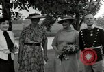 Image of Eleanor Roosevelt Hyde Park New York USA, 1936, second 8 stock footage video 65675074551