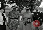 Image of Eleanor Roosevelt Hyde Park New York USA, 1936, second 10 stock footage video 65675074551