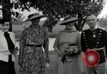 Image of Eleanor Roosevelt Hyde Park New York USA, 1936, second 12 stock footage video 65675074551