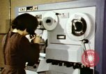 Image of User of early computers by American government workers United States USA, 1968, second 5 stock footage video 65675074553