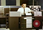 Image of User of early computers by American government workers United States USA, 1968, second 6 stock footage video 65675074553