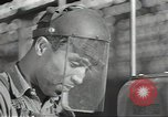 Image of negro war production aircraft workers World War 2 United States USA, 1944, second 11 stock footage video 65675074661