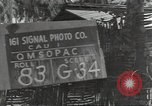 Image of United States soldiers Guadalcanal Solomon Islands, 1944, second 4 stock footage video 65675074685