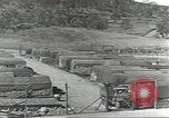 Image of Quartermaster Depot Guadalcanal Solomon Islands, 1944, second 3 stock footage video 65675074688