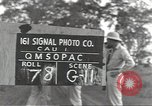 Image of United States soldiers Guadalcanal Solomon Islands, 1944, second 1 stock footage video 65675074689