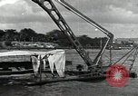 Image of wrecked USS Arizona BB-48 Pearl Harbor Hawaii USA, 1941, second 2 stock footage video 65675074705