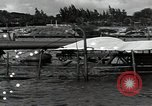 Image of wrecked USS Arizona BB-48 Pearl Harbor Hawaii USA, 1941, second 8 stock footage video 65675074705