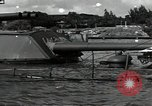 Image of wrecked USS Arizona BB-48 Pearl Harbor Hawaii USA, 1941, second 10 stock footage video 65675074705