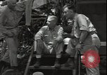 Image of Lieutenant General Woods Guadalcanal Solomon Islands, 1942, second 2 stock footage video 65675074709