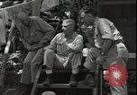 Image of Lieutenant General Woods Guadalcanal Solomon Islands, 1942, second 3 stock footage video 65675074709