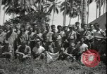 Image of Evan Carlson Guadalcanal Solomon Islands, 1942, second 7 stock footage video 65675074727