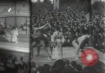 Image of sumo wrestlers Japan, 1939, second 1 stock footage video 65675074743