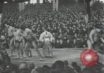 Image of sumo wrestlers Japan, 1939, second 6 stock footage video 65675074743