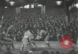 Image of sumo wrestlers Japan, 1939, second 8 stock footage video 65675074743