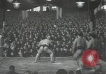 Image of sumo wrestlers Japan, 1939, second 12 stock footage video 65675074743