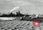 Image of USS North Carolina BB-55 Oahu Hawaii USA, 1942, second 5 stock footage video 65675074757