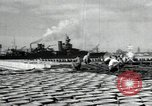 Image of USS North Carolina BB-55 Oahu Hawaii USA, 1942, second 9 stock footage video 65675074757