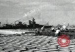 Image of USS North Carolina BB-55 Oahu Hawaii USA, 1942, second 10 stock footage video 65675074757