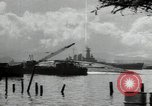 Image of USS North Carolina BB-55 Oahu Hawaii USA, 1942, second 11 stock footage video 65675074757