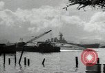 Image of USS North Carolina BB-55 Oahu Hawaii USA, 1942, second 12 stock footage video 65675074757