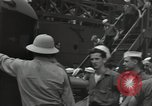 Image of survivors of USS Yorktown Oahu Hawaii USA, 1942, second 6 stock footage video 65675074760