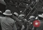 Image of survivors of USS Yorktown Oahu Hawaii USA, 1942, second 7 stock footage video 65675074760