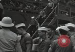 Image of survivors of USS Yorktown Oahu Hawaii USA, 1942, second 8 stock footage video 65675074760