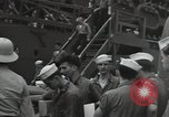 Image of survivors of USS Yorktown Oahu Hawaii USA, 1942, second 9 stock footage video 65675074760
