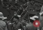 Image of survivors of USS Yorktown Oahu Hawaii USA, 1942, second 10 stock footage video 65675074760