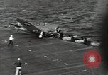 Image of USS Enterprise (CV-6) Pacific Ocean, 1942, second 11 stock footage video 65675074774