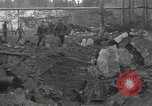 Image of ruins of IG Farben war plant Ebenhausen Germany, 1945, second 9 stock footage video 65675074778
